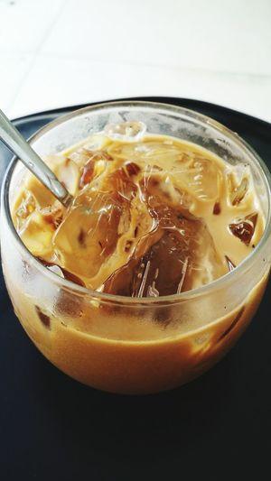Ice coffee milk...Sai Gon