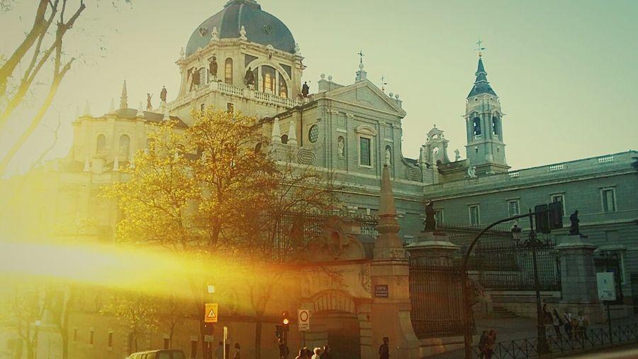 Sunset 🌇 in Madrid