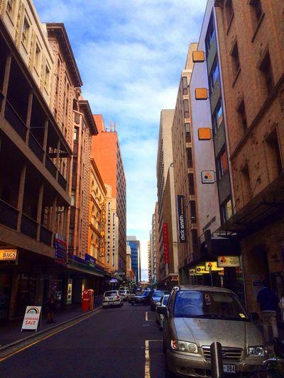 CBD , Adelaide , Australia Urban Walkingstreet Landscape