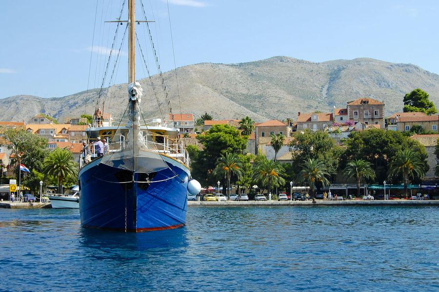 Cavtat Town Cavtat  Croatia Boat Built Structure Nautical Vessel Ship Town Village