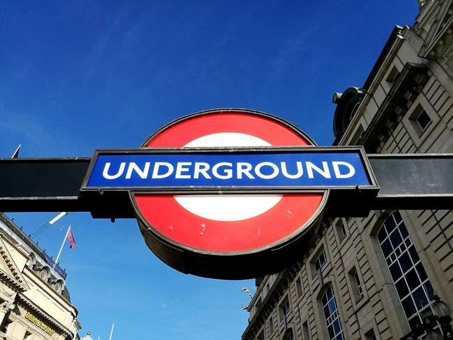 London Londra Great Britain Underground Tube Metropolitana