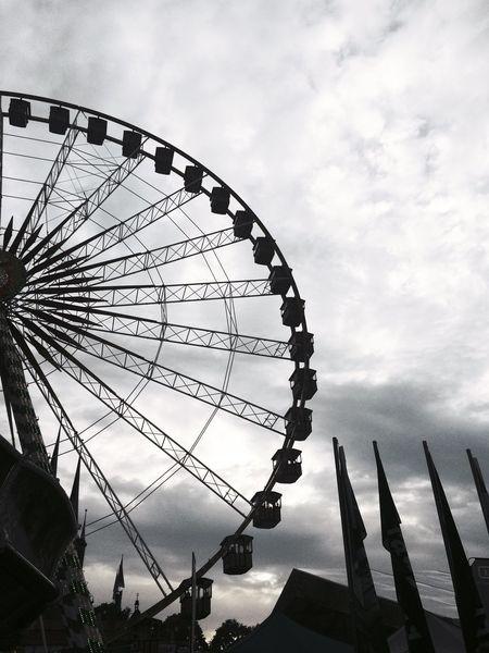Oktoberfest Erfurt Big Wheel IPhoneography LastWeekend