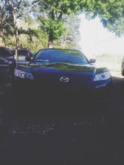Rx8 Mazda Black