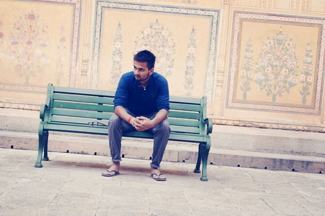 That's Me After The Rain Having Fun Nahargarh