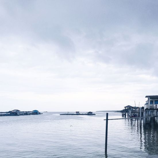 Kelong Malaysia Kelong Kukup Water Village Fishing Village