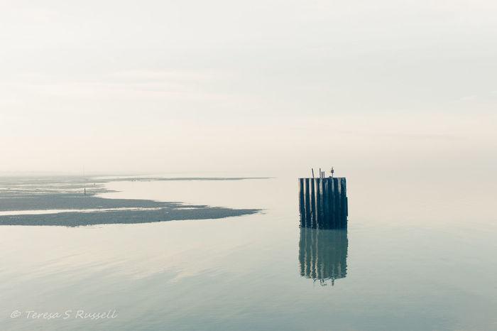 Low tide. Coast Coastline Harbour Nature No People Scenics Sea Sky Tranquility Water