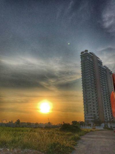 Sunset Sunset Sky Built Structure Architecture Sunset Cloud - Sky Building Exterior Nature