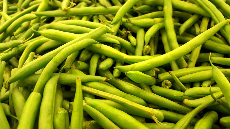 Green beans fresh and in bulk