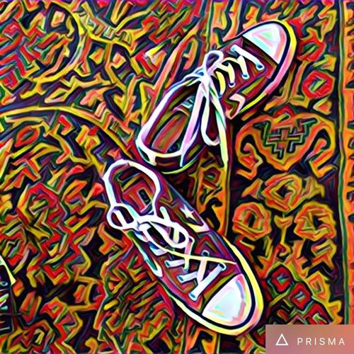 Converse AllStarshoes Popart IPhoneography Abstract Fashion Feels Like Home