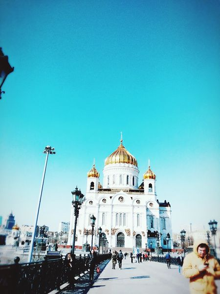 Russia Russia россия Architecture Lovely Weather Loveit люблю Street Sunshine Sunday Morning Moscow, Москва Moscow Church Churches ХрамХристаСпасителя