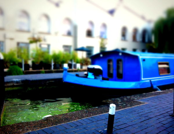 Camden Lock, London, August 2010 Tags: canal, boat, river, miniature, model