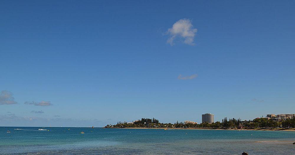 Beach View Blue Sea Blue Sky Sea And Sky Sea Blue Sea Sky Blue Noumea Newcaledonia New Caledonia