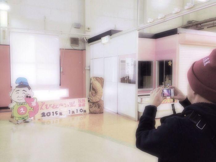 People Watching Taking Photos Of People Taking Photos