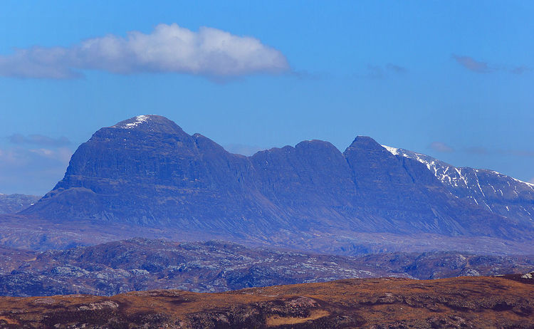Suilven Assynt Mountains Beauty In Nature Climbing Cloud - Sky Coigach Day Landscape Lochinver Mountain Mountain Peak Mountain Range Nature No People Non-urban Scene Outdoors Physical Geography Scenics Scotland Wild Landscape Sky Sugarloaf Mountain Suilven Sutherland Tourism Walking