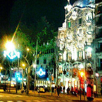 Passeig de Gràcia, Barcelona.