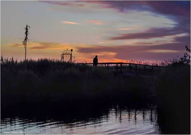 Silhouette Reflection Landscape Adult Water One Person Nature Scenics Men Tramontoacolori Reflection Beauty In Nature Nature Tranquil Scene Tuscany Tuscany Landscape Toscana ıtaly Tranquility Puccini Toscananelcuore Massaciuccoli Country Of Wine Agriculture Real People Lifestyles