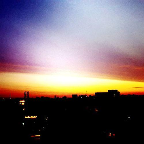 Sunset Silhouette Architecture Nature Landscape Evening Sky