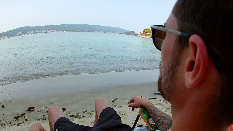 Beach Day Lifestyles Men One Person Personal Perspective Sea Sunglasses Water First Eyeem Photo