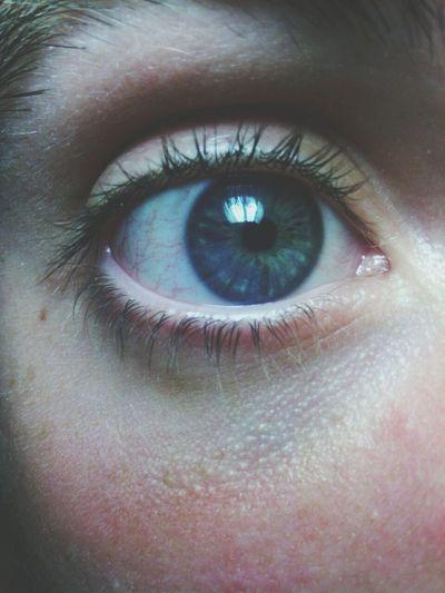 Eye Blue Eyes Night