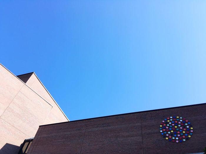 Gasteig Munich München Architecture Built Structure Sky Building Exterior Clear Sky Low Angle View Blue