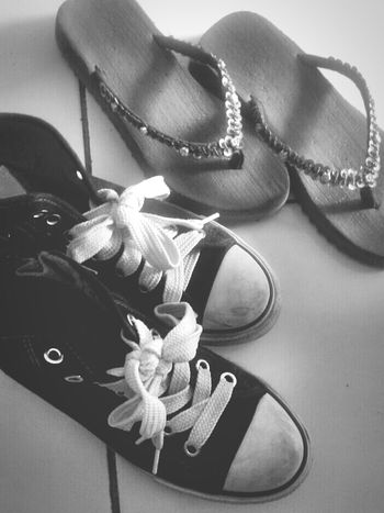 friends are forever. Close-up Object Footwear Footwears Shoes Sneakers Sandals First Eyeem Photo