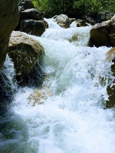 Water Motion Nature Beauty In Nature White Day Outdoors Waterfall Bubles Pressure