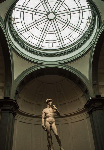 David Sculpture Statue Human Representation Architecture Cultures Fine Art Statue EyeEmNewHere Michelangelo Nikon D3200 Nikon David Academia