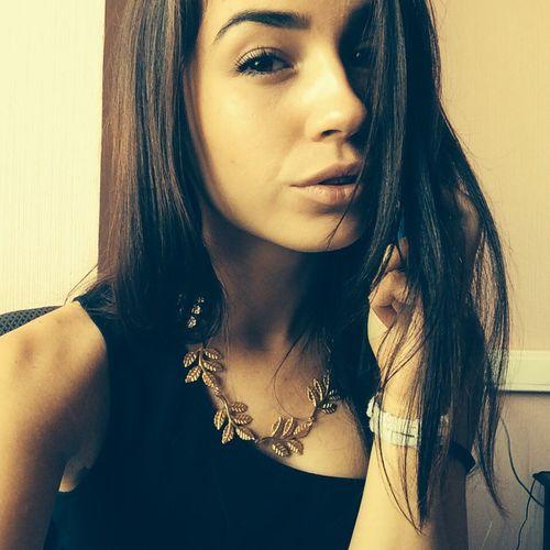 Working Selfie Girl Photo