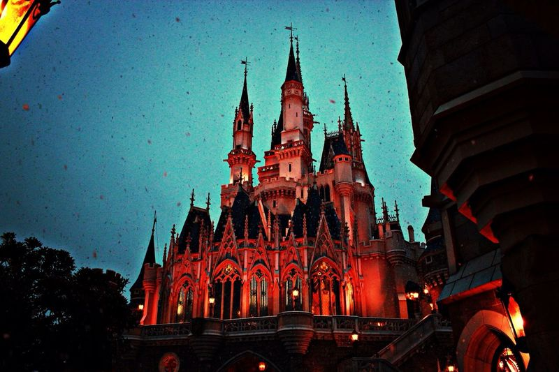 Cinderella Castle Snow Around The World By Lufthansa The Architect - 2015 EyeEm Awards Architecture