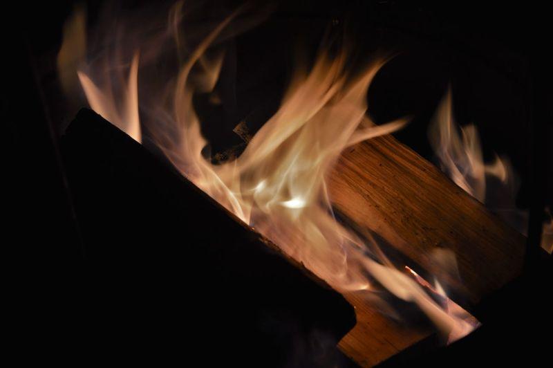 Firewood Black Background Burning Burning Wood Dark Fire Flame Flames Heat Night Scrap
