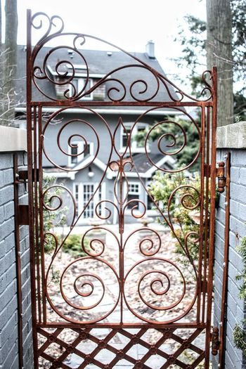 fancy gate door