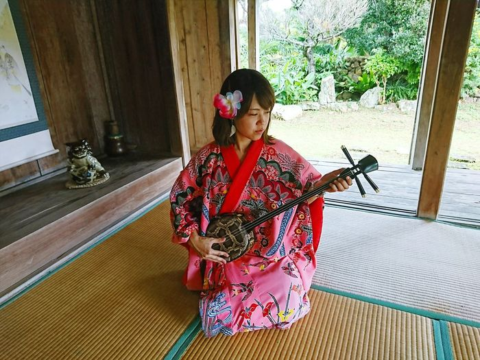 Kimono Sanshin