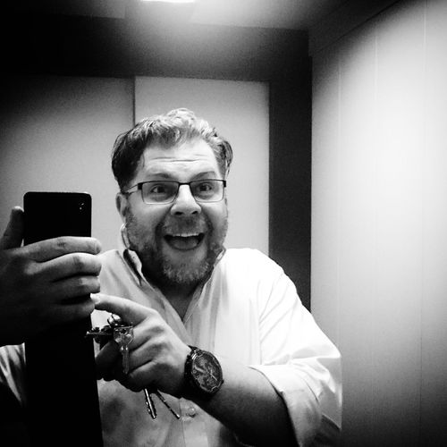 My crazy selfie Selfie Black & White That's Me Its Me Crazy Moments Oski Self Portrait Selfie Portrait
