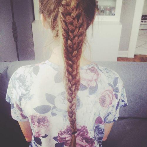 Long Hair Brown Hair Show Time