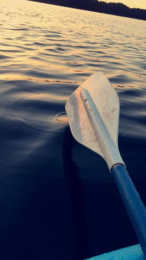 Natural beauty of kayaking at sunset Water No People Sea Outdoors Nautical Vessel Nature Close-up Day EyeEmNewHere Lake Lanier Lake View Let's Go. Together. EyeEm Selects EyeEm Selects Sommergefühle Lakelanier Been There.
