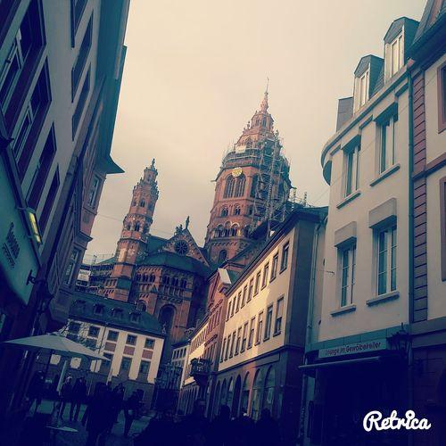 Mainz old city
