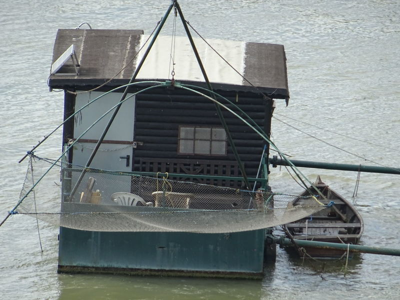 Fisherman River Fischer House Boat Donau Wien Dunabe