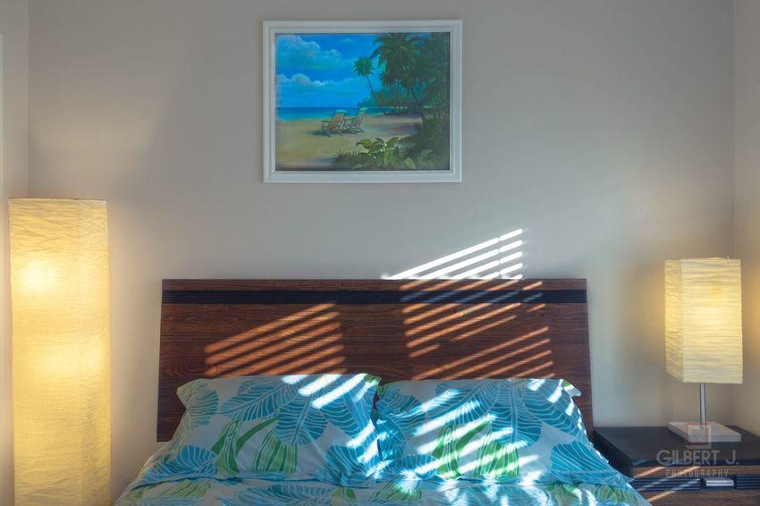 Interior Views Bed Beach Island Life