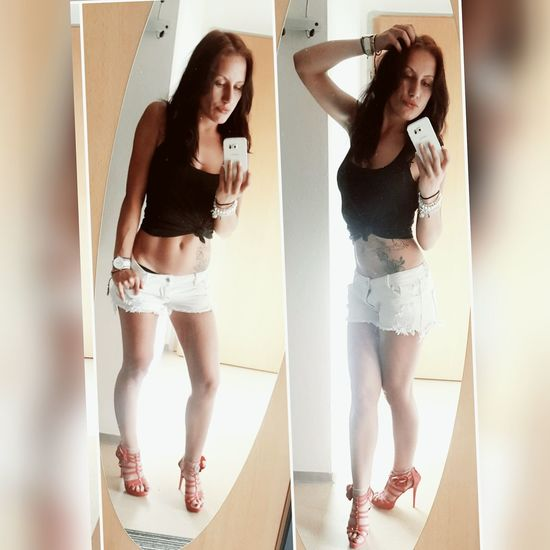 Love me or Hate me... its still an Obsession 🙃 Shoes HighHeels Summer 2k17 Love Selfie Portrait Myself Tatoo Tattoomodels Hotpants Longhair Beauty