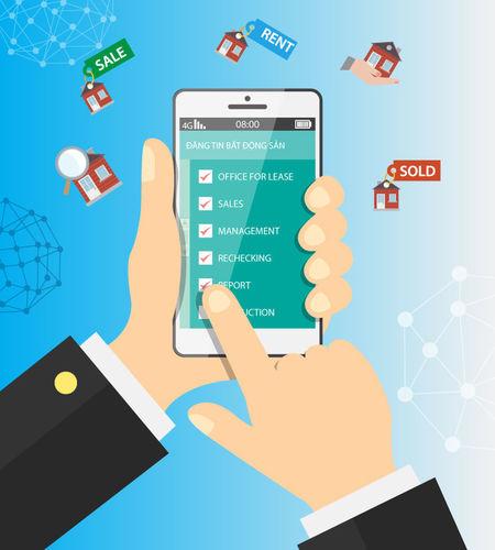 Ứng dụng bán hàng luôn hữu ích đối với các doanh nghiệp bất động sản khi thói quen tìm kiếm và đặt mua dịch vụ của người dùng đang dần thay đổi ứng Dụng Bán Hàng