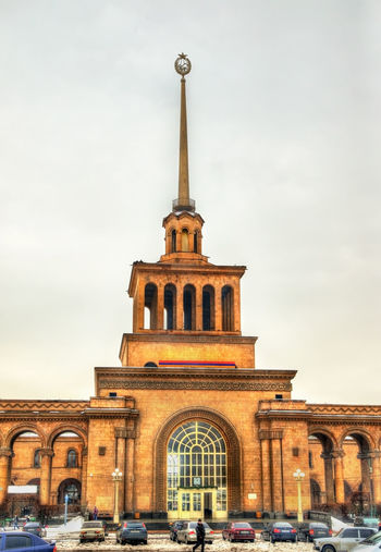View of historical building against sky