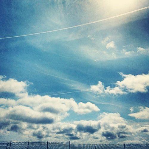 Arucas GranCanaria Canarias Islascanarias CanaryIslands Spain España Cielo Sky CieloAzul BlueSky Nubes Cloudy Sun Sol Sunny Line Air Igers IgersOfTheDay IgersLasPalmas IgersLpa IgersCanarias Instagram Follow FollowMe Instagramers Webstagram