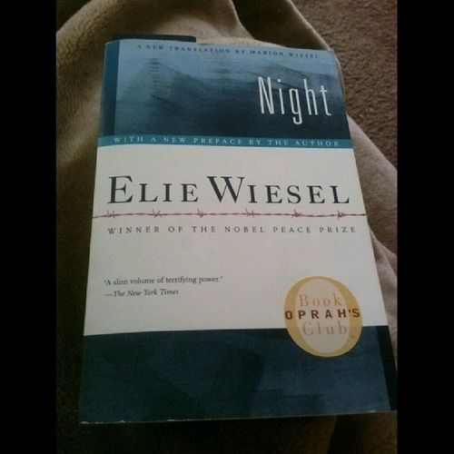 This book was originally $4.50 and I got for 50% off. ;) LoveShoppingAtTheLilBookBug Night ElieWiesel LilBookBug GreatPrices BookShopping