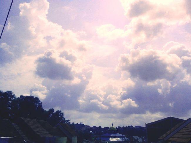Clouds And Sky Morning Sky Batam-Indonesia