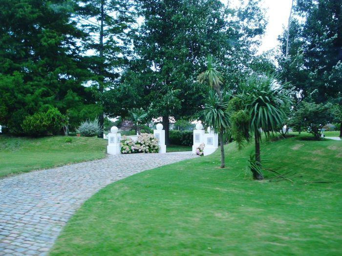 Built structure in park