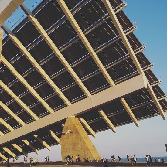 Architecture People Day Adult Barcelona, Spain Parcdelforum Barcelona The Architect - 2017 EyeEm Awards