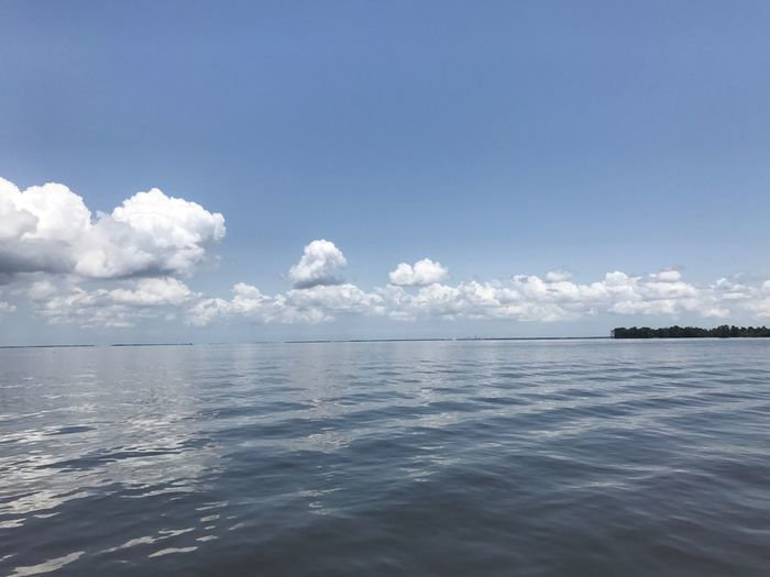 River Boat New Orleans Sea Tranquility Water Beauty In Nature Scenics Tranquil Scene Nature Sky Day Outdoors No People Idyllic Blue Waterfront Cloud - Sky Horizon Over Water in July 2017 Sommergefühle 17.62°