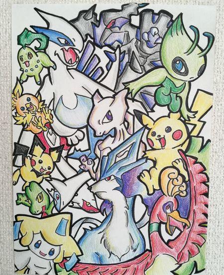 ポケモン Pokémon Taking Photos MyDrawing Illustration Check This Out Drawing ひとまずイラストはお休みします。