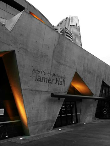 Took this today morning.(color splash series-06)Concrete Modern Architecture Stree Photography Art Center Melbourne-Hamer Hall