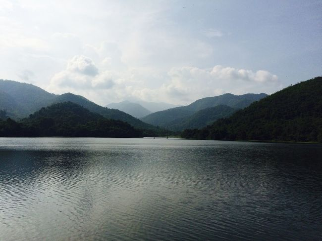 Preserving Water Lake Mountains Green Backgrounds River Landscapes Green Nature Nature